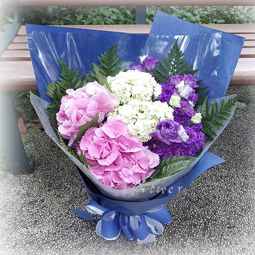 御花苑-繡球花花束