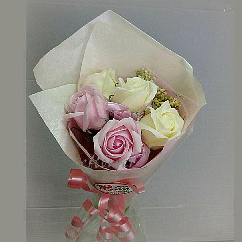 玫瑰花香皂花束